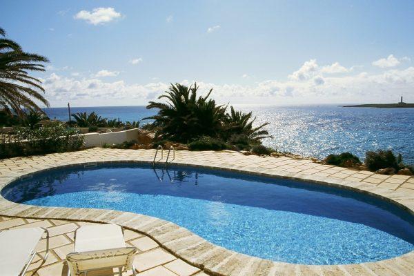 Villa Sa Cova in Punta Prima, Menorca, Spain