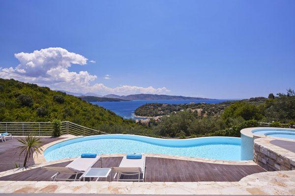 Villa Tatiana in Agios Stefanos, Corfu, Greece